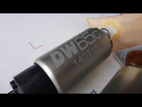 DeatschWerks 65c Fuel Pump Install Part 1