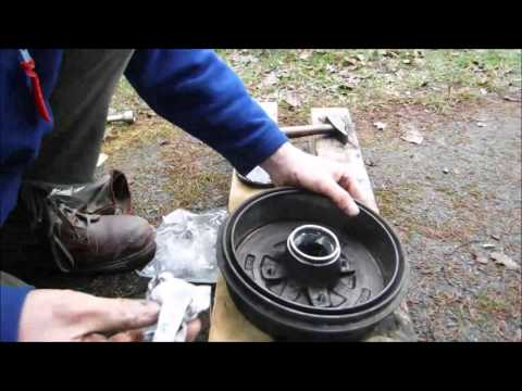 Tuto comment changer les roulements de roue arri re sur daewoo lanos youtube - Comment changer un skimmer ...