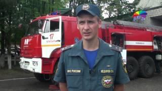 Современный пожарный автомобиль получили огнеборцы ПЧ 17  в Алатыре