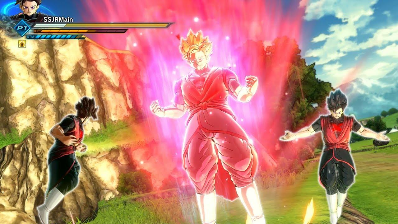 Xeno Goku Black Outfit For CAC Rosu00e9 Kaioken!   Dragon Ball Xenoverse 2 MOD REVIEWS - YouTube