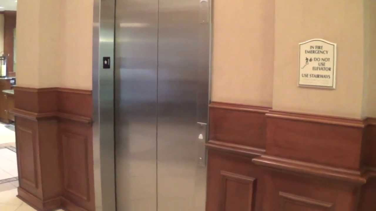 Schindler 400A Traction Elevators At The Hilton Garden Inn Athens Downtown  (w/ Ems318)