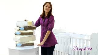 видео Как выбрать матрас в детскую кроватку