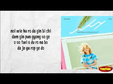 TAEYEON - WHY Lyrics (easy Lyrics)