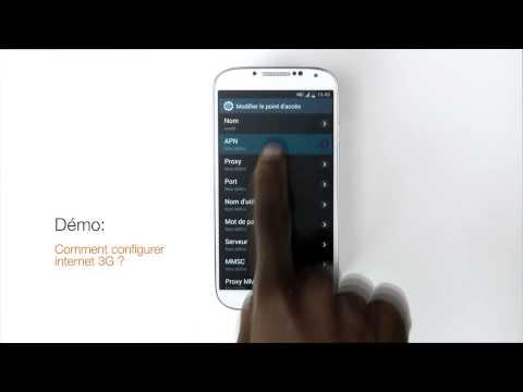Comment Configurer Internet 3G+ Sous Son Android ?
