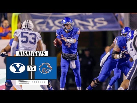 BYU vs. Boise State Football Highlights (2018) | Stadium