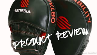 Sanabul Essential Curved Boxing MMA Punching Mitts - Product Review