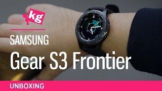 Samsung Gear S3 Frontier Unboxing [4K]