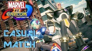 Marvel vs Capcom Infinite - Casual Matches