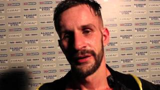 TALENTED LES BYFIELD IMPRESSES ON FIRST BOXNATION APPEARANCE - (POST FIGHT INTERVIEW)