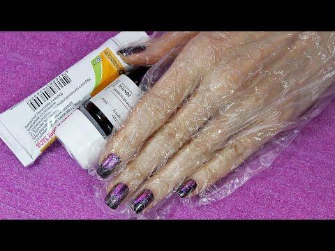 Ногти на руках сухие