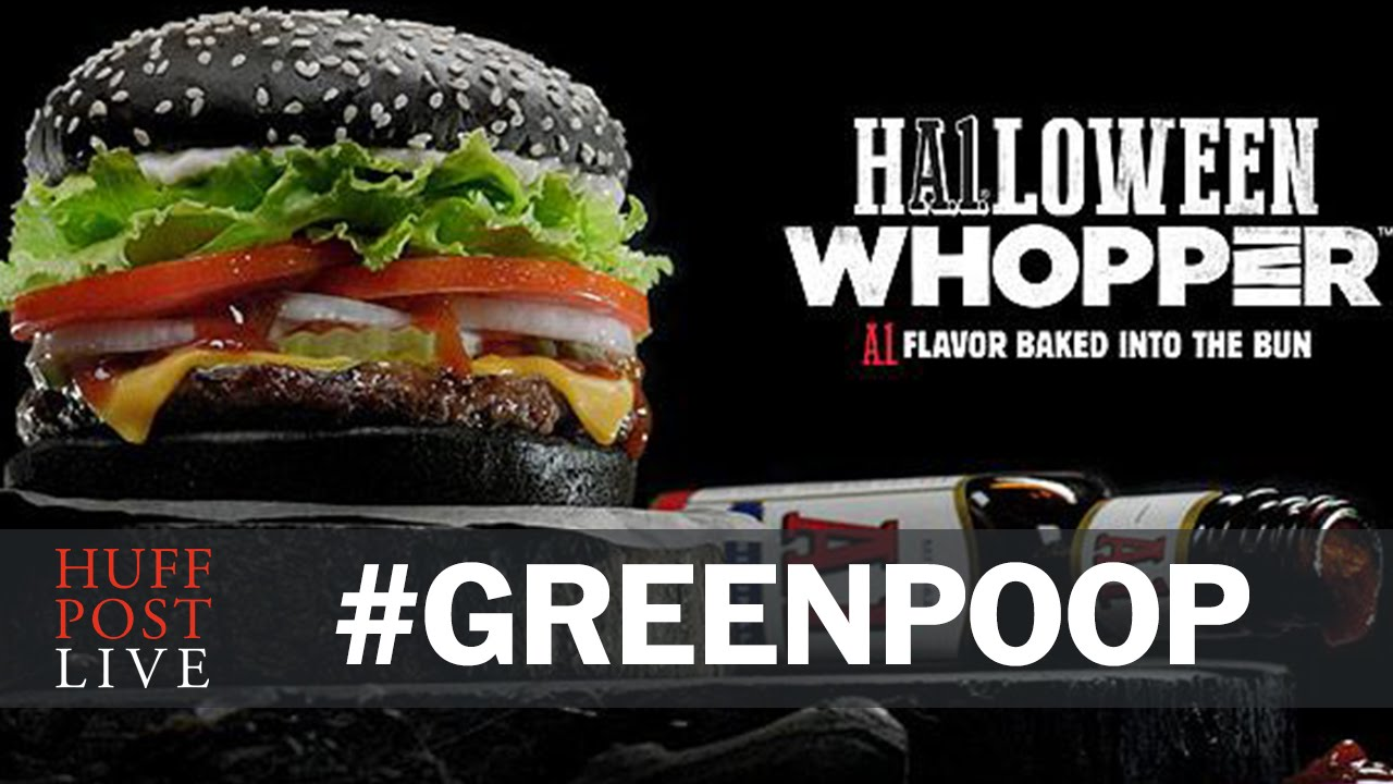 Man Says Eating Burger King's Halloween Whopper Is 'Worth The Side ...
