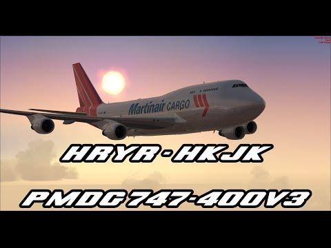 HRYR - HKJK / PMDG 747-400V3