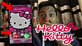 CALLING HELLO KITTY *OMG SHE ACTUALLY ANSWERED*
