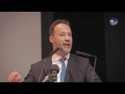Dr. Jan Bollinger (AfD) - Vorstellung des stellvertretenden Landesvorsitzenden.