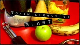 "Nutribullet ""Toxin Cleansing Blast"" Nutriblast Recipe"