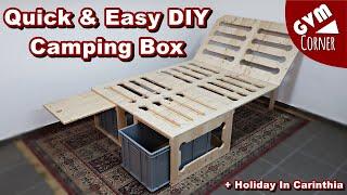 Quick & Easy DÏY Camping Box + Holiday In Carinthia / Einfache Campingbox + Urlaub In Kärnten