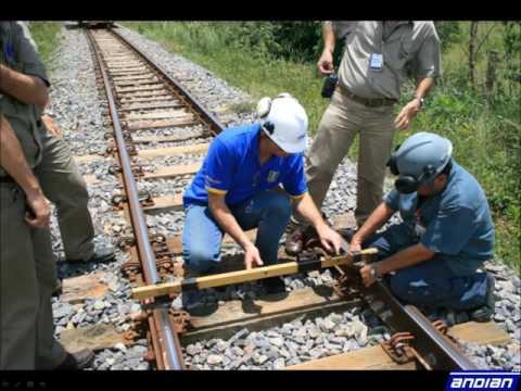 Andian Technologies Rail Geometry Measurement System