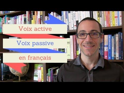 Voix active / Voix passive (apprendre le français)