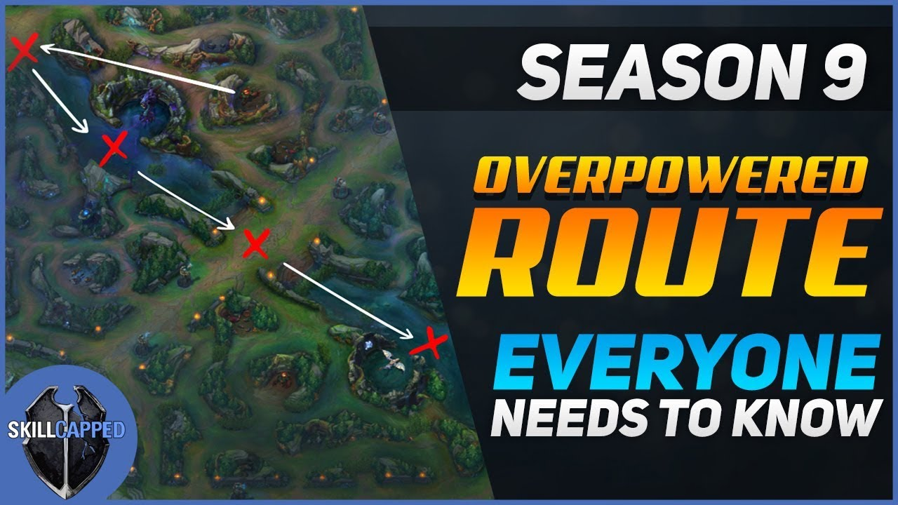 The Most Overpowered Jungle Route For Season 9!