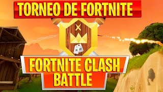 TOURNAMENT OF YOUTUBERS AND COMMUNITY OF CLASH ROYALE IN FORTNITE!! FORTNITE CLASH BATTLE!!