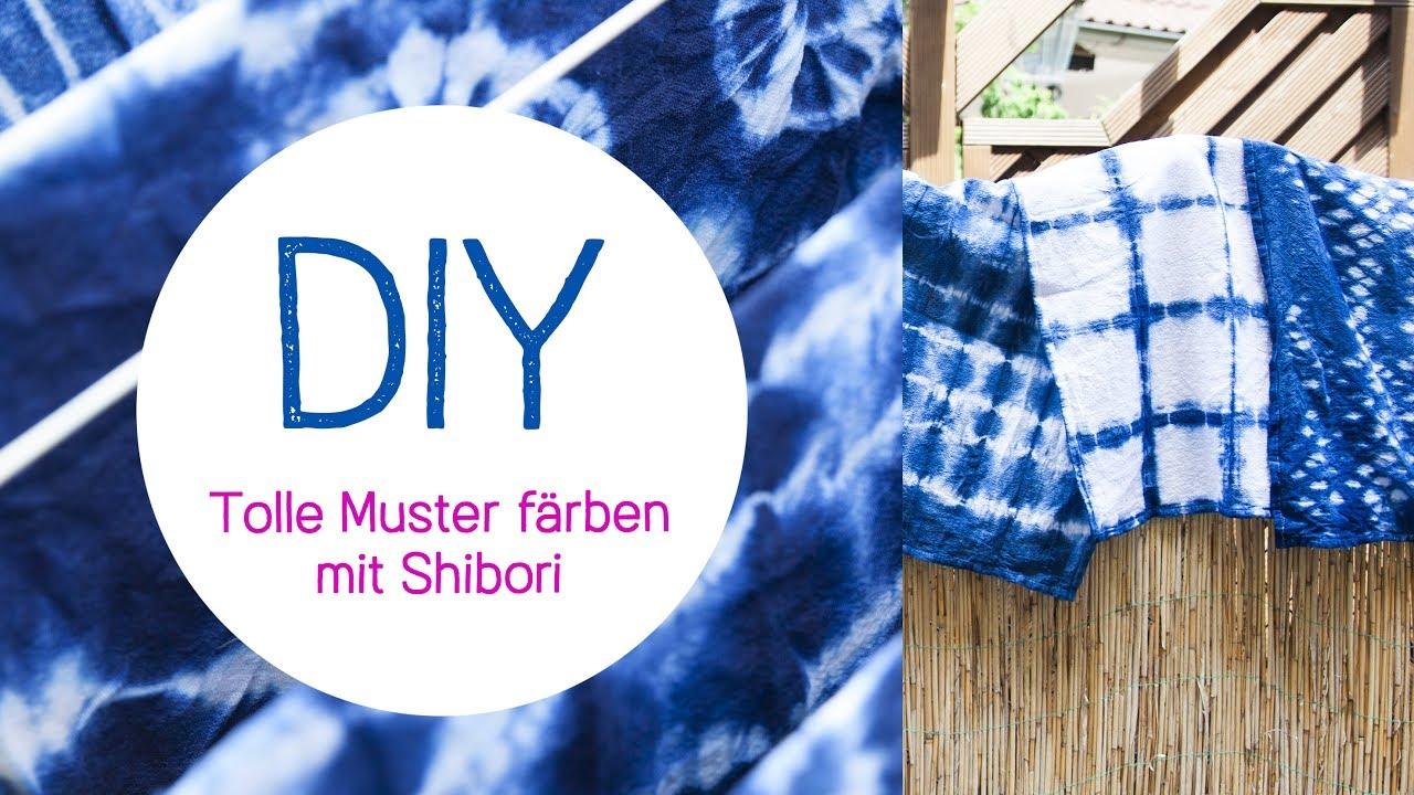 diy shibori frbetechnik batiken trend - Batiken Muster