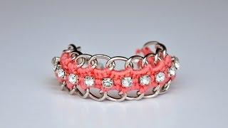 Create A Crochet Chain Bracelet - Diy Style - Guidecentral