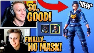 "Streamers GET the 'NEW' ""Unmasked"" Style for the Waypoint Skin! (FREE UPGRADE) - Moments Fortnite"