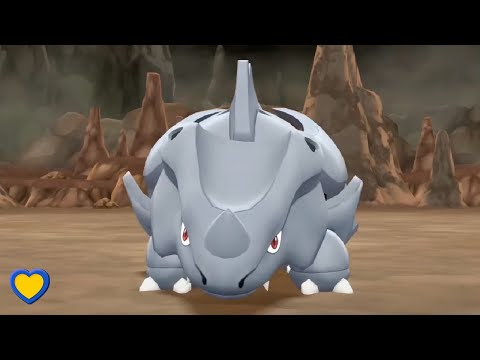 HOW TO GET Rhyhorn In Pokémon Let's Go Pikachu & Eevee