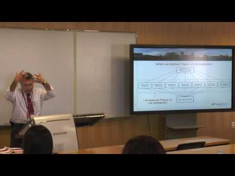 2016 ISQOLS: Economics and Employment; Theme: Work-Life-Balance, Job Satisfaction (Part 1 of 3)