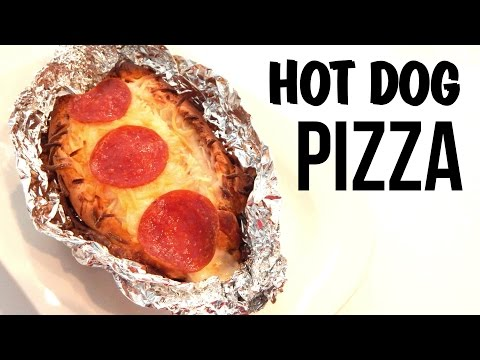 How to Make Easy Hot Dog Pizza