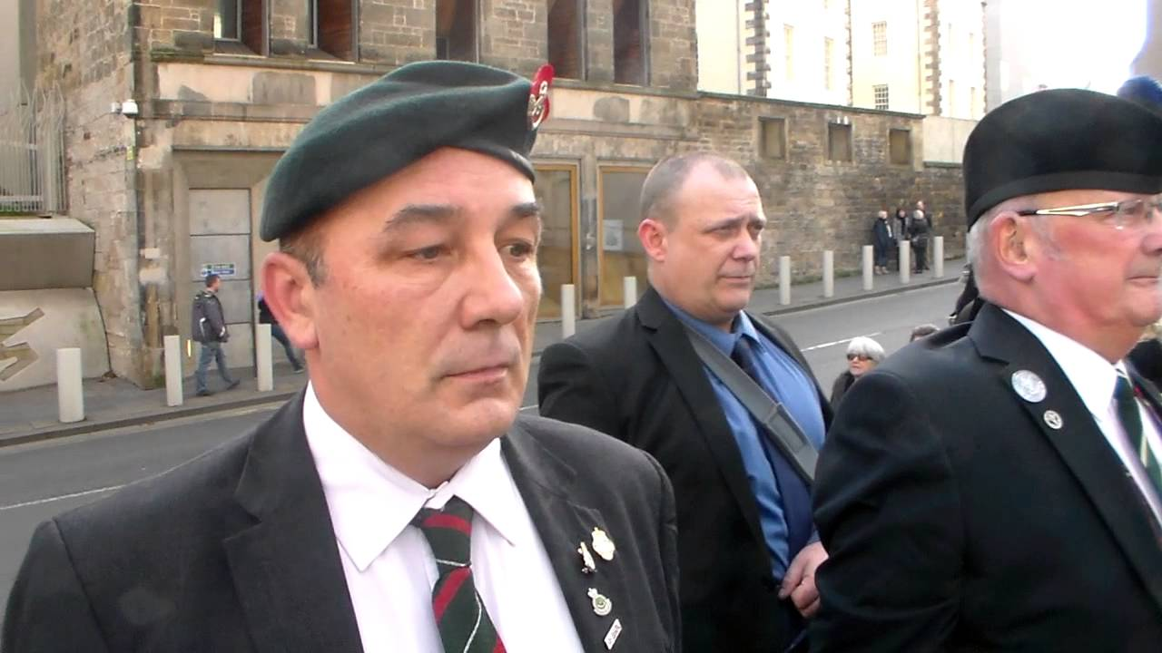 Scottish Veterans Residence Rememberence Cannon Gate ...
