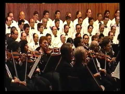 An evening of  Cantorial Master Pieces with The Israel Philharmonic Orchestra. Tel-Aviv 1991