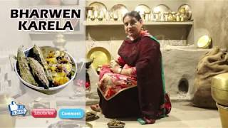 BHARWEN KARELA | KARELA FRY | BITTER GOURD RECIPES | COOK WITH KAUR