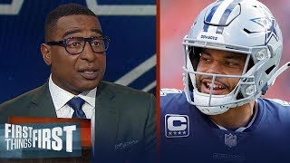 Cowboys should prioritize Dak Prescott's payday - Cris Carter | NFL | FIRST THINGS FIRST