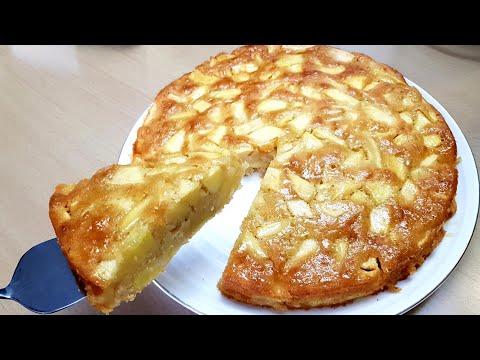 gâteau-aux-pommes-sans-oeuf-facile-et-rapide