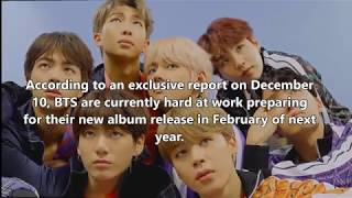 (NEWS)BTS rumored to be releasing a new album in February of next year