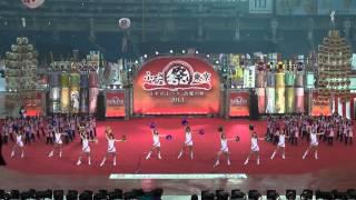 「小島智子Withオールスターチアリーダーズ」ふるさと祭り東京2013