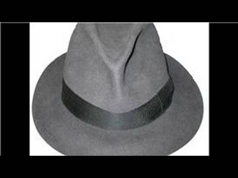 Vintage & World-Wide Fashion : What Is a Classic Fedora?