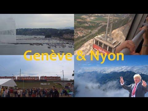 Genève & Nyon! - Switzerland & Hungary (Summer 2017) Part 1/5