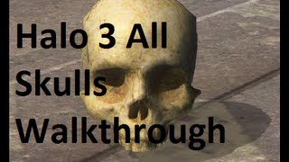 Halo 3: 14/14 Skulls Including IWHBYD Skull In Order