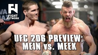 UFC 206 Preview: Jordan Mein Returns vs. Emil Weber Meek