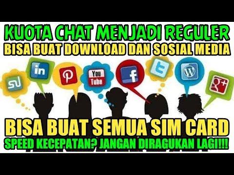 Cara Mengubah Kuota Chat Menjadi Kuota Reguler - Bisa Semua Sim Card