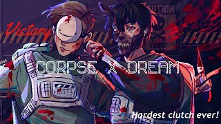 CORPSE X DREAM's 9999IQ play in among us! Ft. Valkyrae, Sykkuno, Jack, Toast and More!