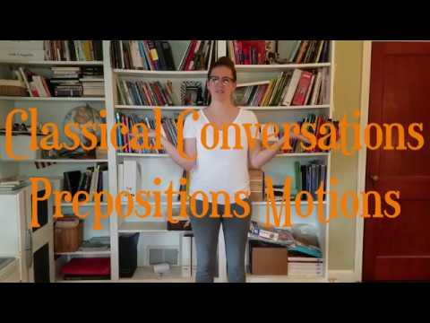 CC Prepositions Song Motions