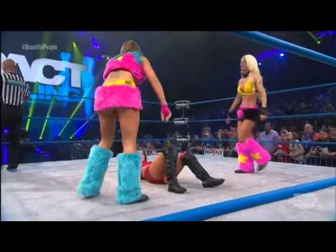 The beautiful people vs Brittany and Madison rayne