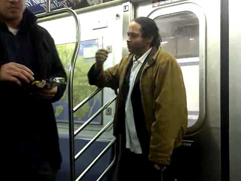 Fight on NYC 6 Train