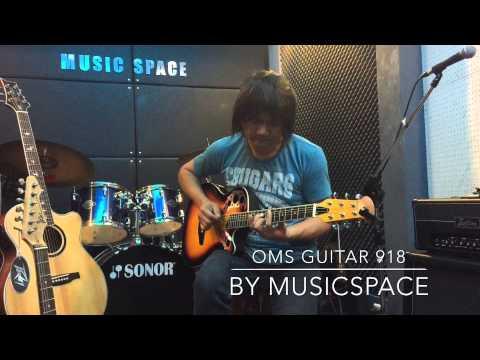OMS GUITAR OMS918 Lyrachord Bowl Guitar กีตาร์หลังเต่า