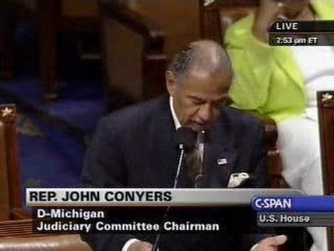 Chairman Conyers on the 1964 Death of 3 Civil Rights Workers
