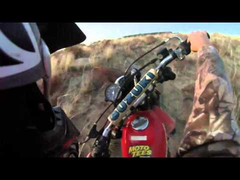 Dirtbike tips, how to stop on a hill