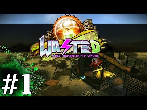 Wasted Gameplay / Let's Play (Adult Swim) - Part 1